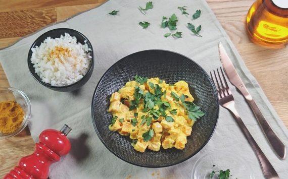 Curry de Patates douces (Recette facile ⭐)