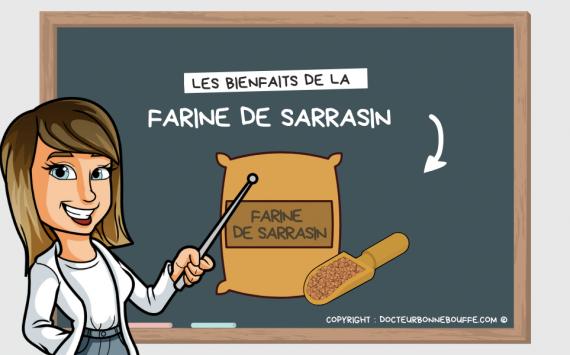 7 bonnes raisons d'utiliser plus souvent la farine de sarrasin