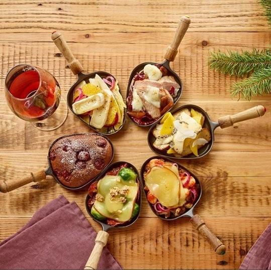 legumes raclette healthy