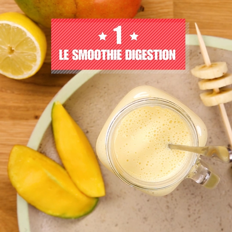 Le Smoothie digestion de Docteur BonneBouffe