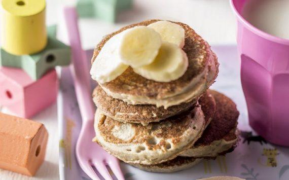 Mini-pancakes à la banane (Recette facile⭐)