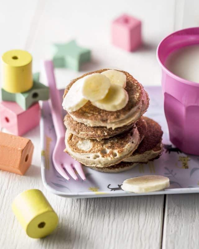 pancakes banane vegan