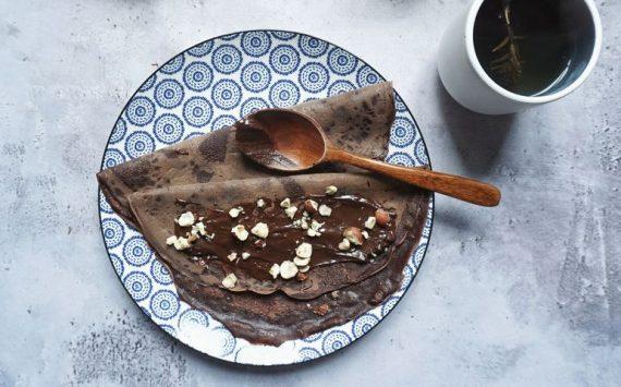Pâte à crêpes au chocolat (recette facile⭐)