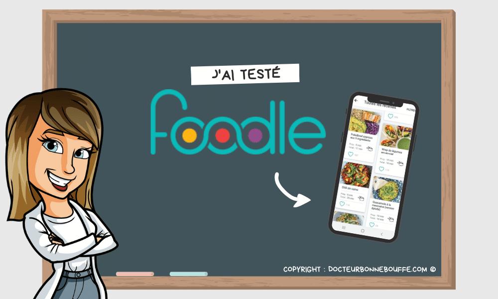J'ai testé Foodle, la plateforme pour trouver des idées de recettes !