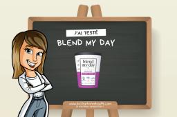 On a testé les smoothies prêts-à-mixer Blend my Day !