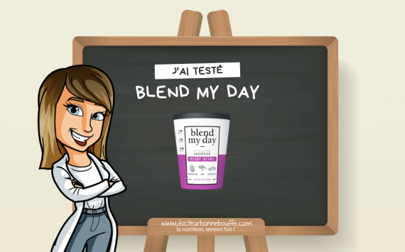 On a testé les smoothies prêts-à-mixer Blend my Day !