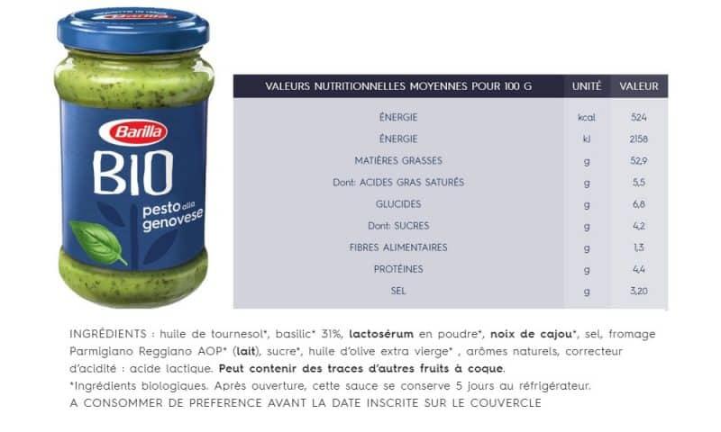 Pesto alla Genovese bio Barilla