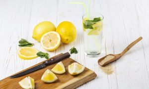 eau citronnée maison recette