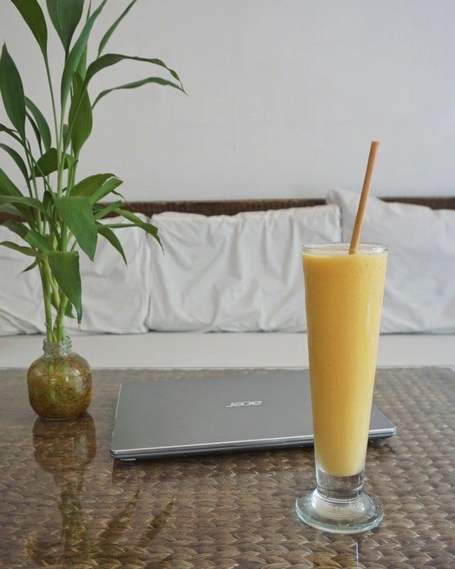 smoothie mangue recette