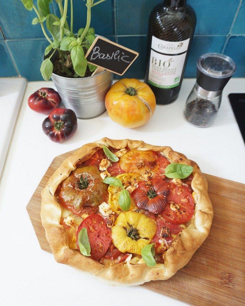 tarte aux tomates anciennes recette