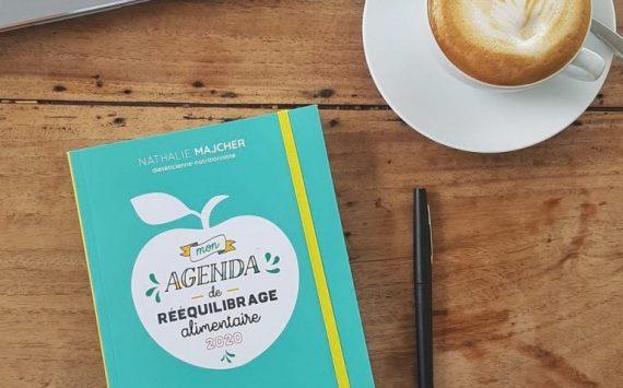 « Mon agenda de rééquilibrage alimentaire 2020 » : le premier agenda pour apprendre à manger sainement