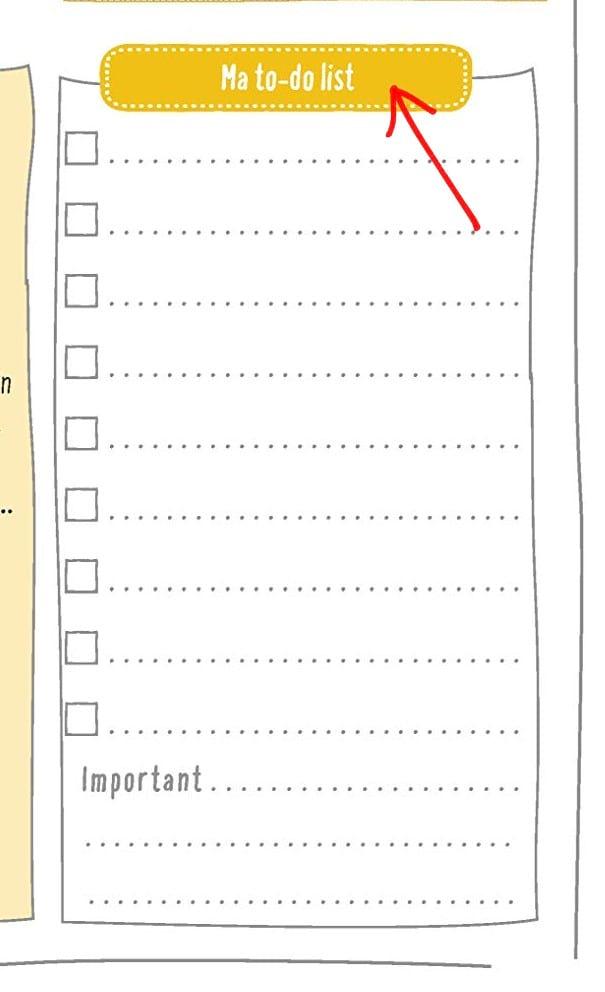 to do list agenda