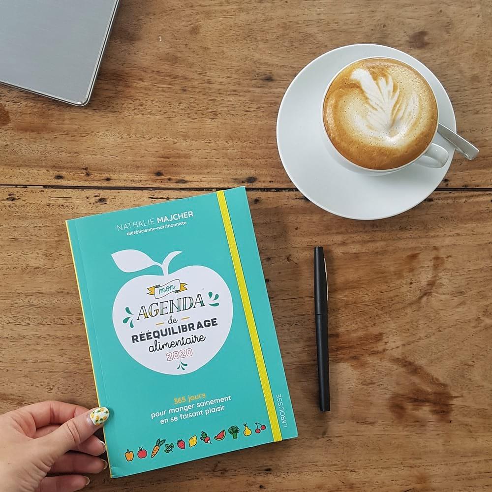 Mon agenda de rééquilibrage alimentaire 2020, éditions Larousse