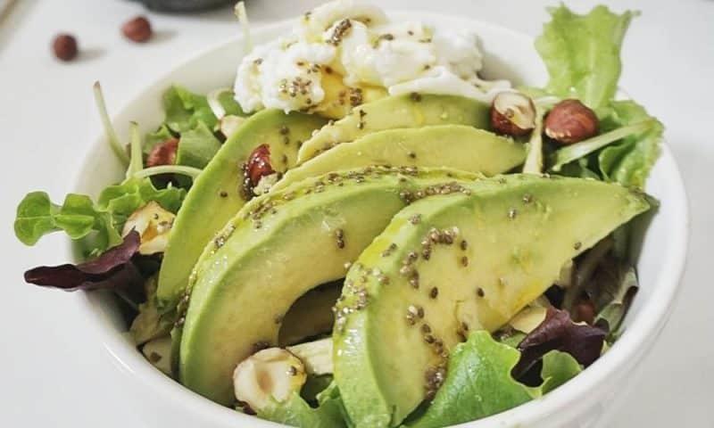 salade vinaigrette graines de chia recette
