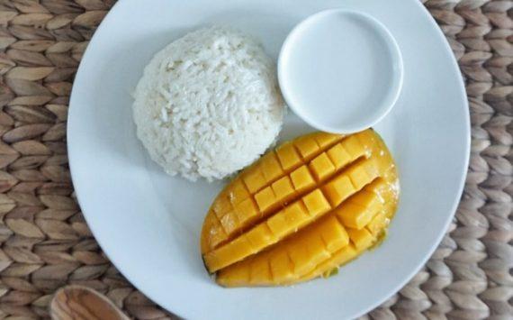 Mango sticky rice (recette facile⭐)