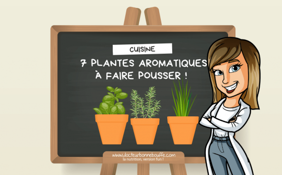 7 plantes aromatiques à faire pousser dans sa cuisine