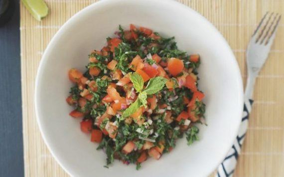 Taboulé à la libanaise (recette facile ⭐)