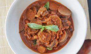 aubergines à la sauce tomate recette