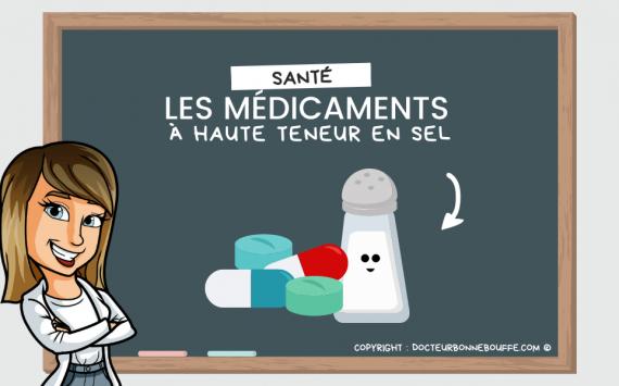 Médicaments à haute teneur en sel : faut-il s'inquiéter ?