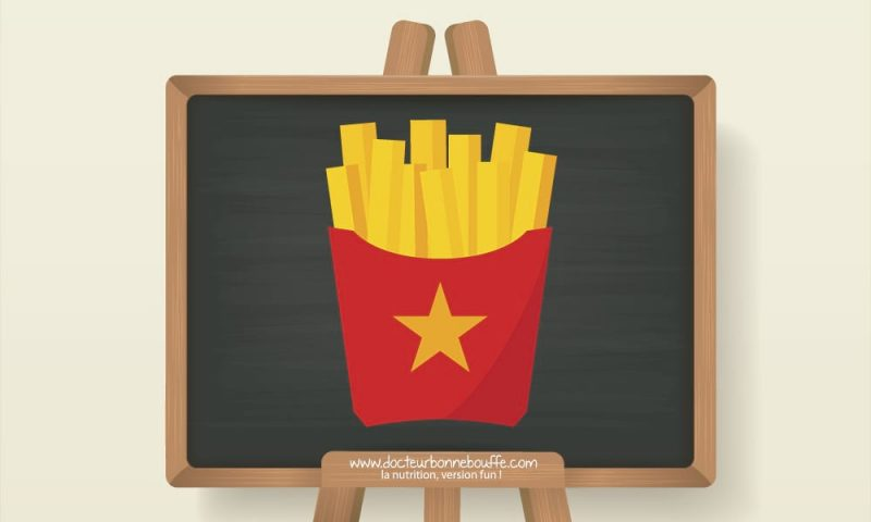 frites mcdonalds composition