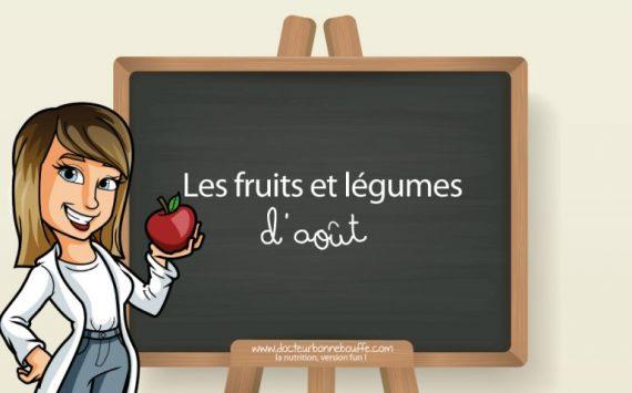 Les 30 fruits et légumes de saison à privilégier au mois d'août