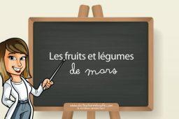 Les 21 fruits et légumes de saison à privilégier au mois de mars