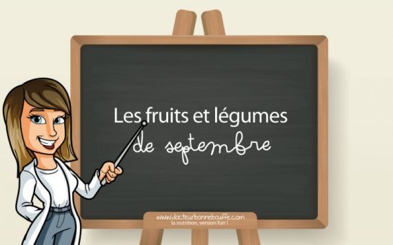 Les 33 fruits et légumes de septembre