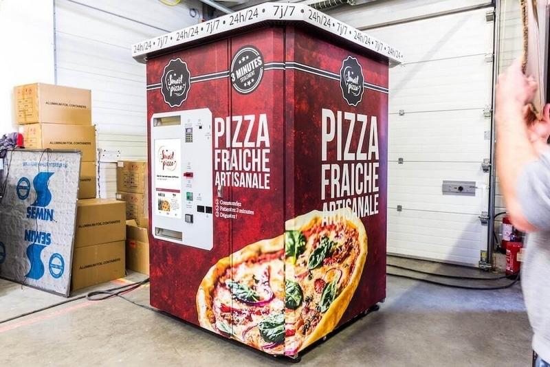 smart pizza distributeur automatique