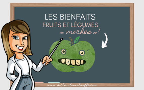 Les 4 bienfaits des fruits et légumes moches