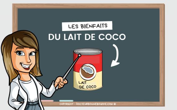 Le lait de coco : faut-il s'en méfier ?