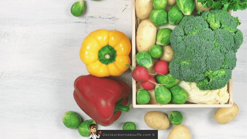 box de légumes frais
