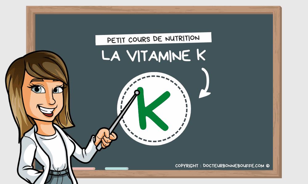 vitamine K bienfaits santé