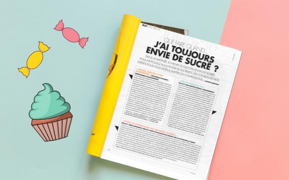 """""""Que faire en cas d'envie de sucré ?"""" (Interview pour le magazine ELLE du 22 mai 2020)"""