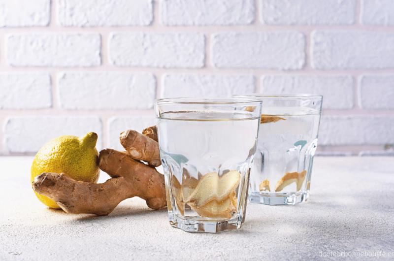 Infusion gingembre et citron (recette facile)