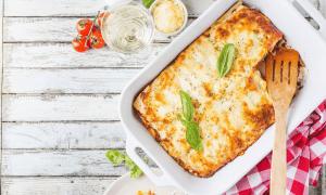 lasagnes d'automne courge épinards ricotta recette