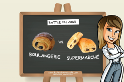La Battle du jour : pain au chocolat du boulanger vs. du supermarché