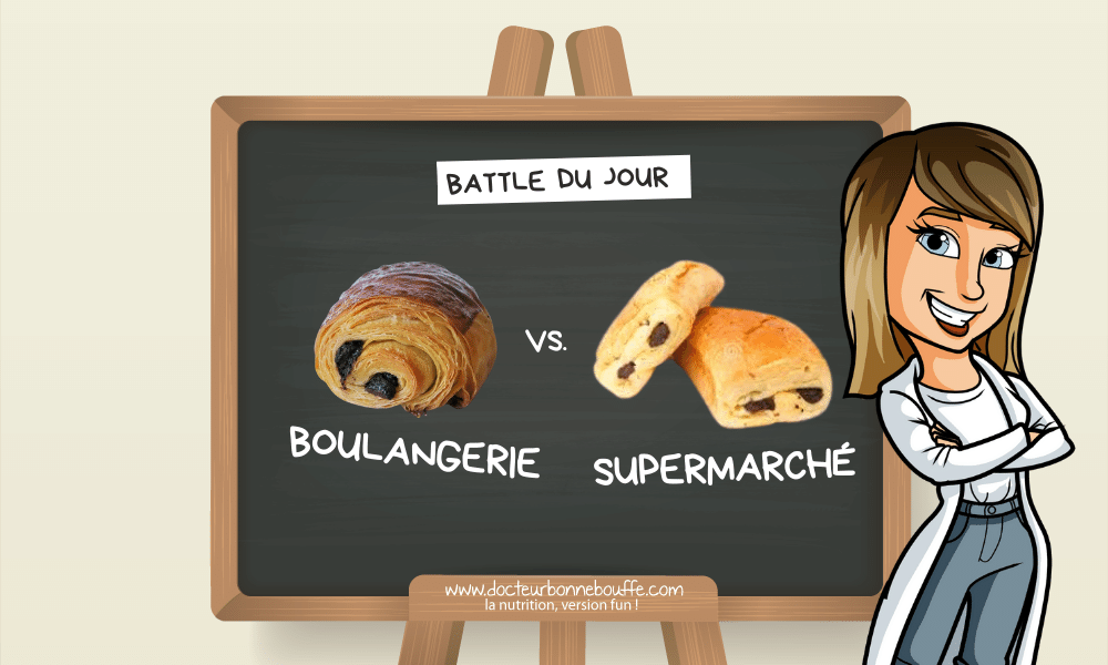 pain au chocolat artisanal ou du commerce analyse de composition