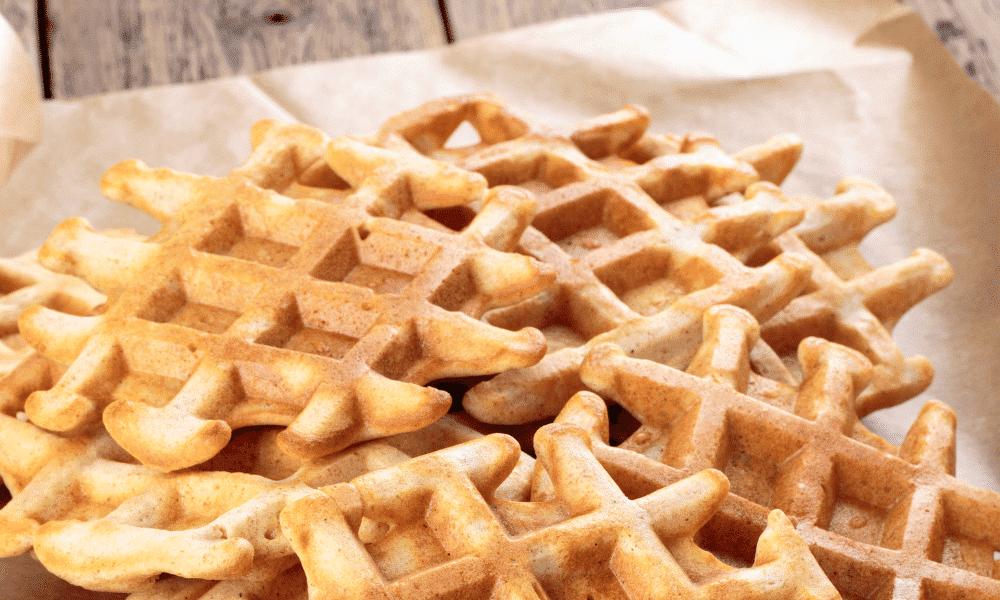 Gaufres natures, sans beurre (recette facile⭐)