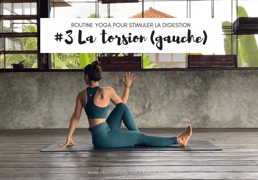 torsion posture yoga