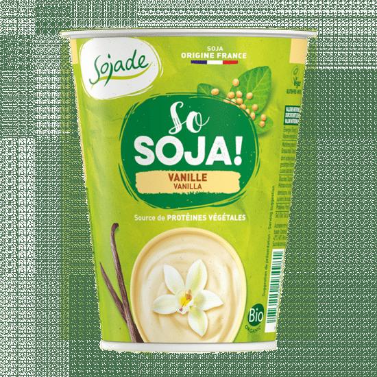 yaourt végétal au soja vanille sojade