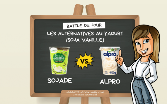 """La Battle du jour Sojade vs. Alpro : quel """"yaourt"""" végétal au soja vanille choisir ?"""
