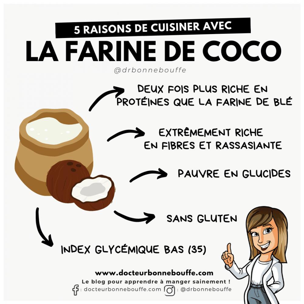 farine de coco bienfaits