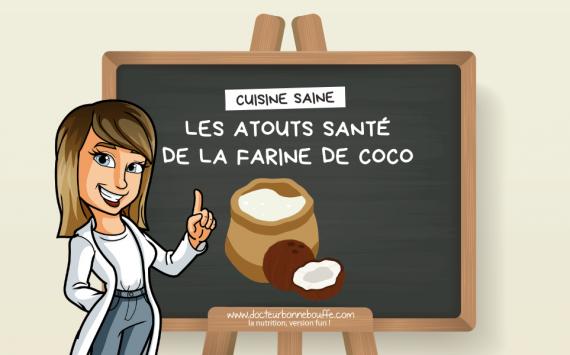 Santé : 5 raisons de cuisiner avec de la farine de coco !