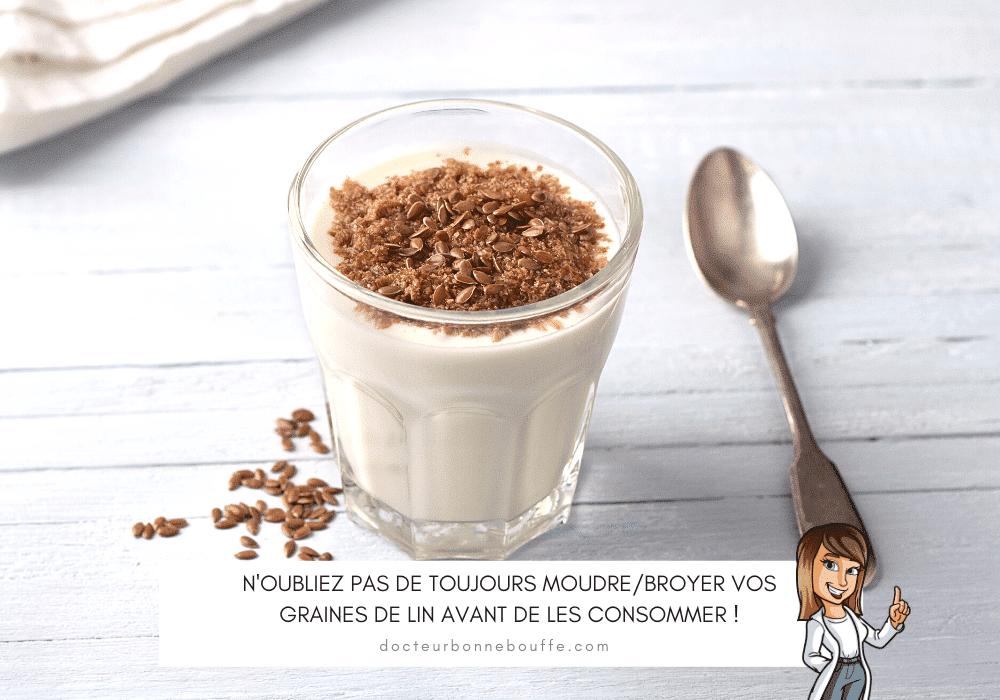 yaourt aux graines de lin