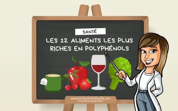 Les 12 aliments les plus riches en polyphénols