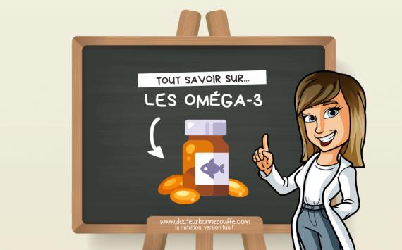 Les acides gras oméga-3 : rôles et bienfaits
