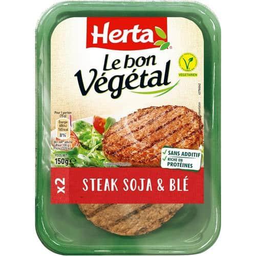 steak végétal herta avis