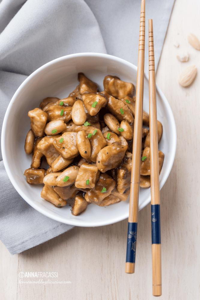poulet aux amandes recette