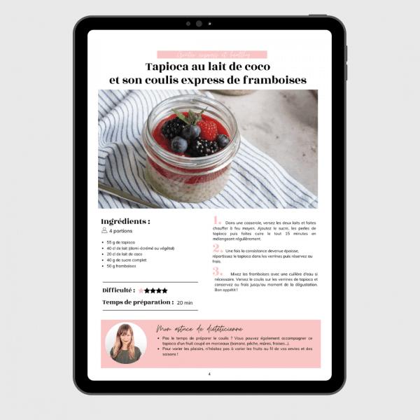 ebook goûters équilibrés