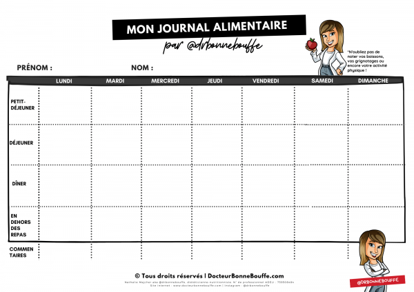 journal alimentaire pdf